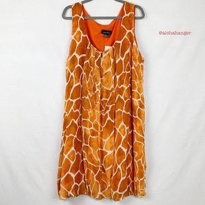 NWT Ashley Stewart Giraffe Print Dress!